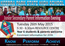 Junior Secondary Parent Information