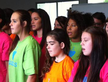 Colourful performance takes Gold at Choral Fanfare.